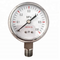 HF cheap use no oil oxygen pressure gauge for gas cylinders
