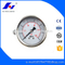HF Glycerine or Silicone Oil Filled 60mm Back Entry Hydraulic 0-7kg/cm2/psi/bar U-clamp Normal Water Gas Pressure Gauge