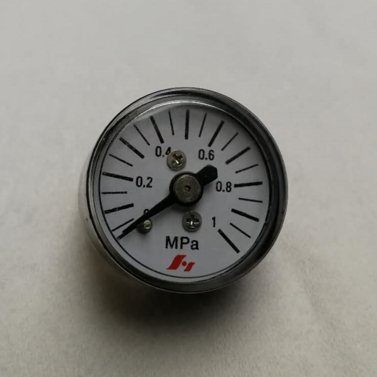 "HF 0-10 bar 0-100 psi plastic ABS 25mm small mini 1"" Pressure Gauge"