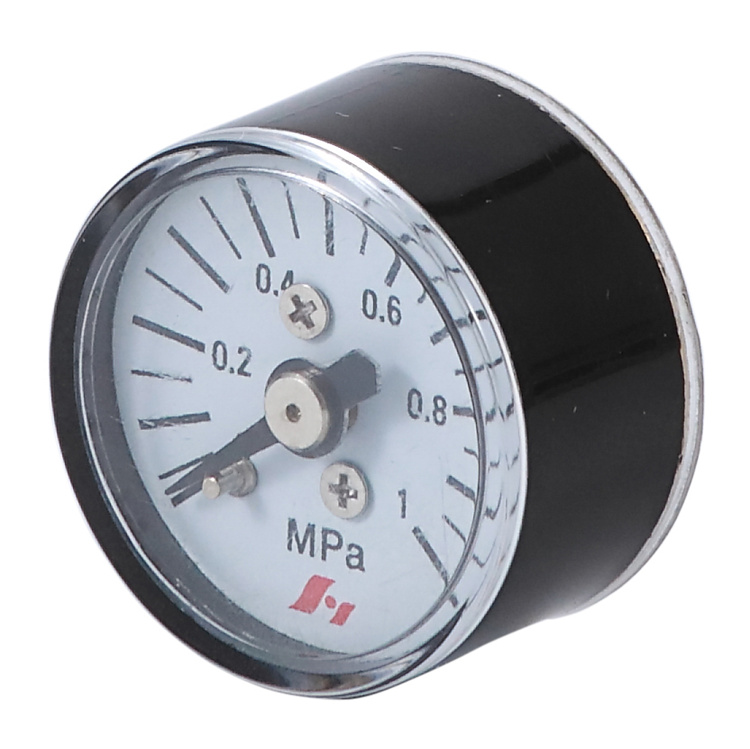 "HF 0-10 bar plastic ABS 23mm mini 1"" Pressure Gauge"