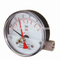 HF 80mm Forged Aluminum Case Magnetic Piston 0-2.5bar/psi Plastic Window Bellows Differential Pressure Gauge