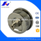 HF 0- 160psi/bar All Stainless Steel One Piece Welded Type Generator Oil Filled Pressure Gauge