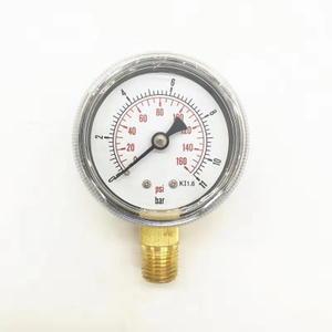 "HF 2"",2.5"" 0-20psi 0-250psi low and hight plating or Stainless steel case bayonet Dry Pressure Gauge"
